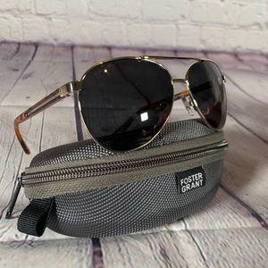 Foster Grant Aviator sunglasses